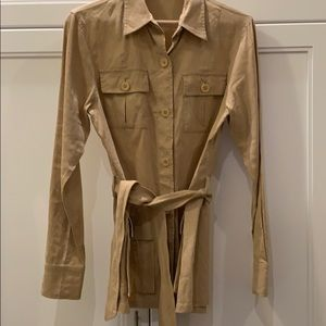 THEORY Linen Blend Jacket / Blazer